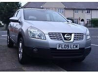 2009 Nissan Qashqai Acenta Silver,Very Good Condition recently serviced BARGAIN
