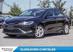 2016 Chrysler 200 LIMTED | 5.0 TOUCH SCREEN | ALLOYS | HEATED SE