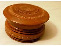 *CHARITY SALE* Beautiful HANDMADE vintage wooden jewelery box (2/7)