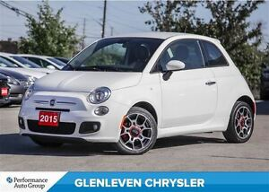 2015 Fiat 500 Sport, Alloys, Clean Carproof !!!
