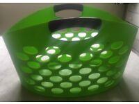 Large Green Washing/Laundry Basket FREE
