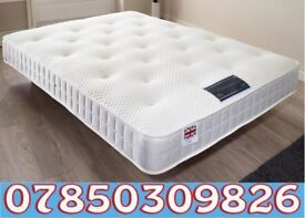 double 1 0 inch 1000 pocket mattress with memory foam brand new