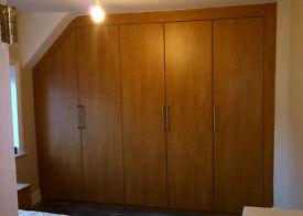 Walk in wardrobes, Bedroom wardrobes, Built in wardrobes, Door replacement