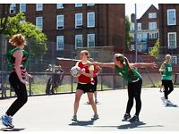 Looking for teams and individuals to play netball on Mondays in Brixton