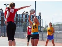 Play Social Netball in Clapham Common! (July Start)