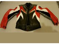 Buffalo motorcycle jacket with armor size 10