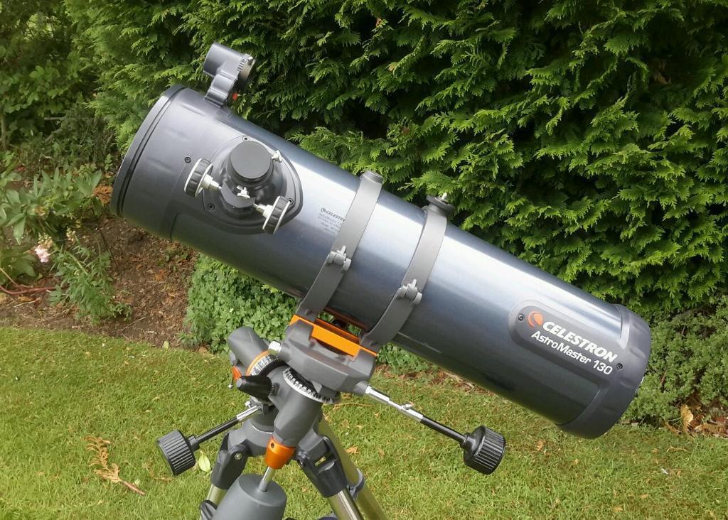 Telescope celestron astromaster eq newtonian reflector in