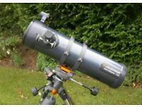 Telescope, Celestron AstroMaster 130 EQ, Newtonian Reflector