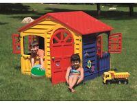 Children's Indoor Outdoor Playhouse - NEW