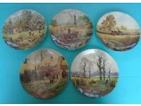 Wedgewood Plates - Wall Hanging - Collectors - The Four Seasons and Farm - Michael Herring