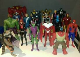 Loads of Marvel Action Figures