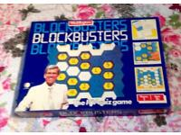 Blockbusters Board Game Vintage 1986 Waddingtons Edition. Complete And VGC.