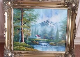 Picture Frame Inc. Hand Painting
