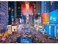 Holiday package London - New York 26 Dec - 02 Jan Return 2 people - 8days-7nights flights - hotel