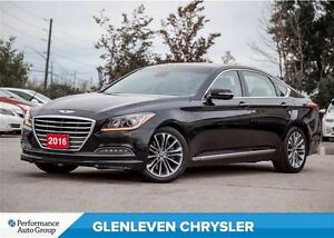 2016 Hyundai Genesis 3.8  HTRAC, NAV, Panoramic Sunroof
