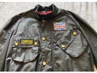 Barbour International Union Jack Wax Jacket