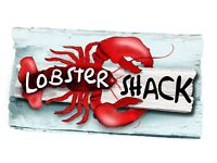 CHEFS, WAITING STAFF, KITCHEN ASSISTANTS & DRIVER REQUIRED FOR LOBSTER SHACK & ROCKETEER RESTAURANT