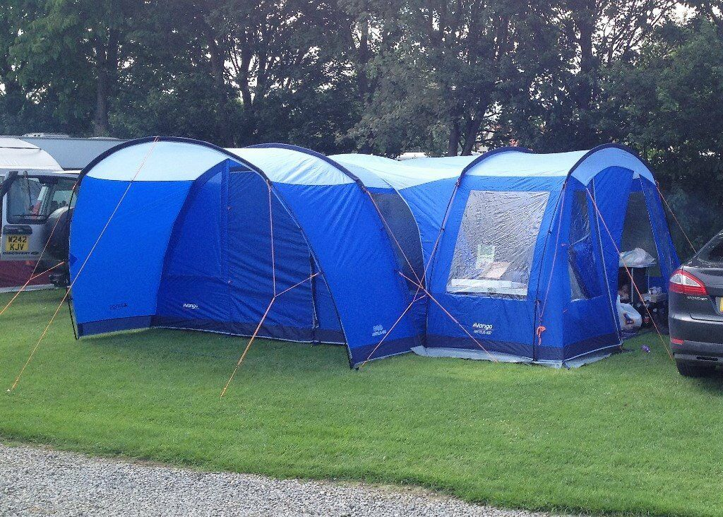 VANGO ANTEUS 600 TENT WITH SIDE AWNING/ EXTENSION. | in ...