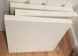 IKEA white Lack side tables £10 for all three