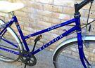 17 inch Raleigh Pioneer Lightweight Hybrid town city bike road bicycle Ladies woman