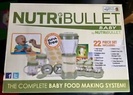 Nutribullet baby - brand new