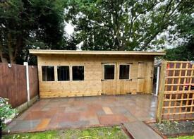 Landscaping - custom summer houses