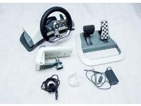 Microsoft XBOX360 Force Feedback Wireless Racing Wheel