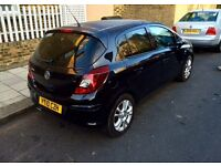 Vauxhall Corsa SXI 1.4 5dr AUTOMATIC 2010 black cat d