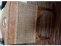 Vintage baby rocking crib