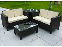 Luxury Rattan Sofa Set Garden Furniture Patio Conservatory Wicker Outdoor