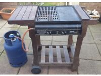 X Wyevale Hard Wood Gas Fired BBQ Barbecue and Grill