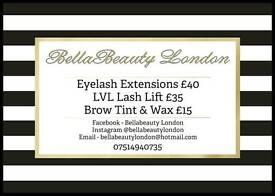 Lash Extensions £40 SE20