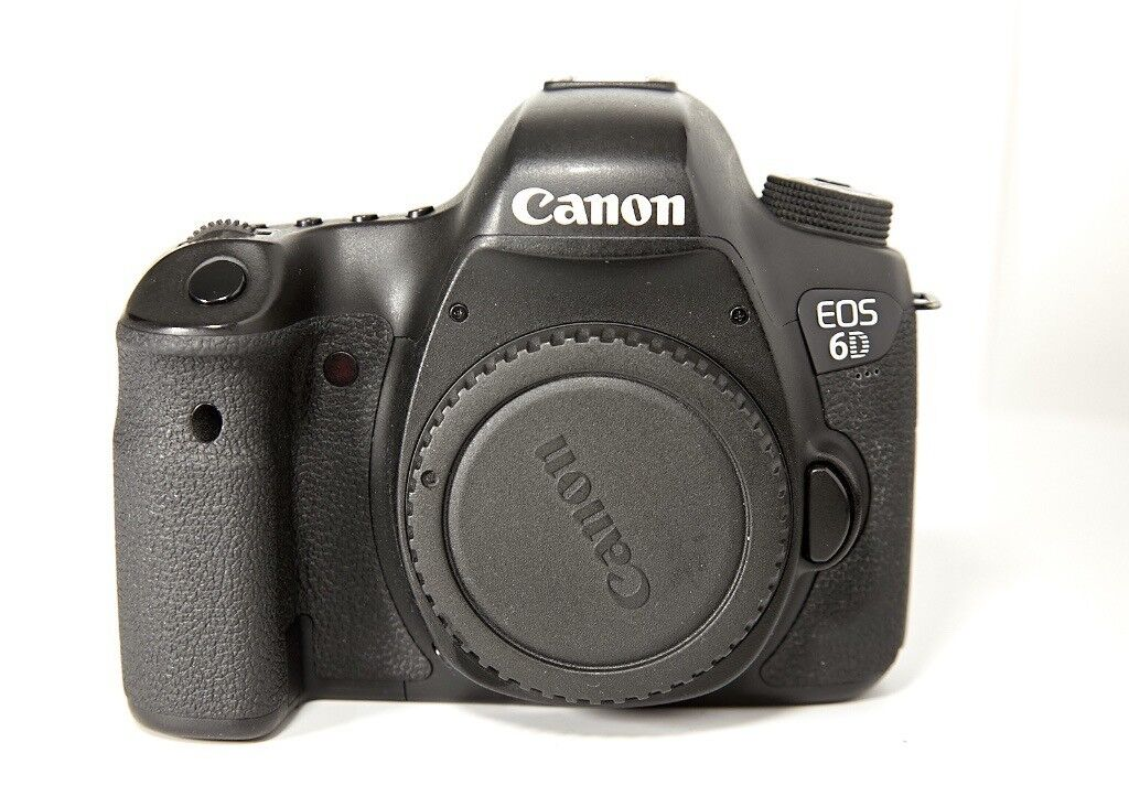 Used Canon EOS 6D Digital SLR Camera Body and used Hahnel camera grip