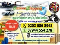 Shipping to the Caribbean with great prices and reliable Service