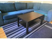 L Shape Sofa in Good condition /teal