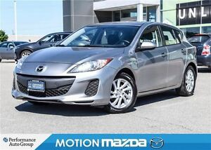 2012 Mazda MAZDA3 SPORT CONV PKG Remote Start Bluetooth