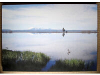 Canvas print - Yellowstone Lake - 85x60x4 cm