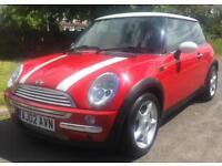 Mini Hatch Cooper Cooper 3dr (red) 2002