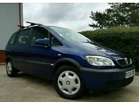 2004/54 VAUXHALL ZAFIRA DTI *1 OWNER FROM NEW LONG MOT IMMACULATE THROUGHOUT