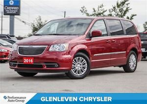 2016 Chrysler Town & Country Touring-L, Leather heated seats & S