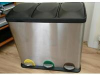 Recycling bin - Stainless steel