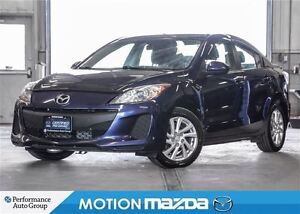 2012 Mazda MAZDA3 GS-SKYACTIV Winter Tire PKG Cruise Auto Headli
