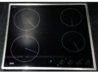 ZANUSSI USED CERAMIC HOB + FREE BH ONLY POSTCODES DELIVERY & 3 MONTHS GUARANTEE
