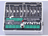 Electro-Harmonix Bass Micro Synth Guitar Effects Pedal