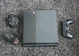 Playstation 4 ps4 & 4 games