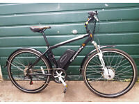 "Electric Bike - Cyclotricity Revolver Hybrid e-bike medium 18"" frame"