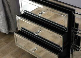 Valencia 6 drawer chest MIRRORED - RPP £ 439