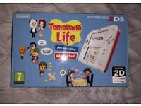2DS White/Red