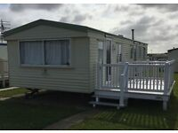 Static caravan for sale On east coast of Yorkshire £15995 for everything including the decking!