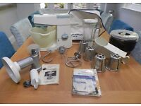 Kenwood Chef Model A701A and Huge Range of Attachments